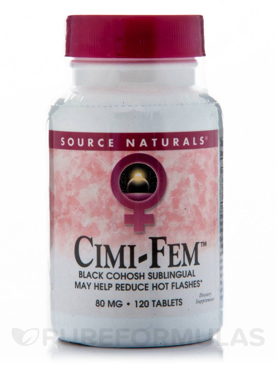 Cimi-Fem 80 mg Sublingual - 120 Tablets
