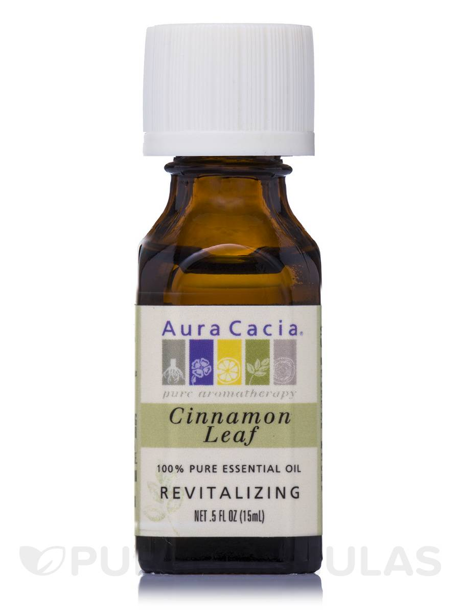 Cinnamon Leaf Essential Oil (Cinnamomum verum) - 0.5 fl. oz (15 ml)