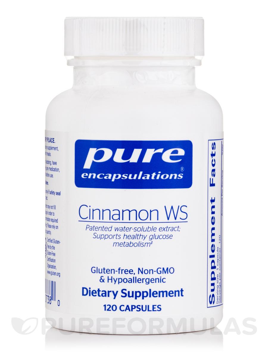 Cinnamon WS - 120 Capsules