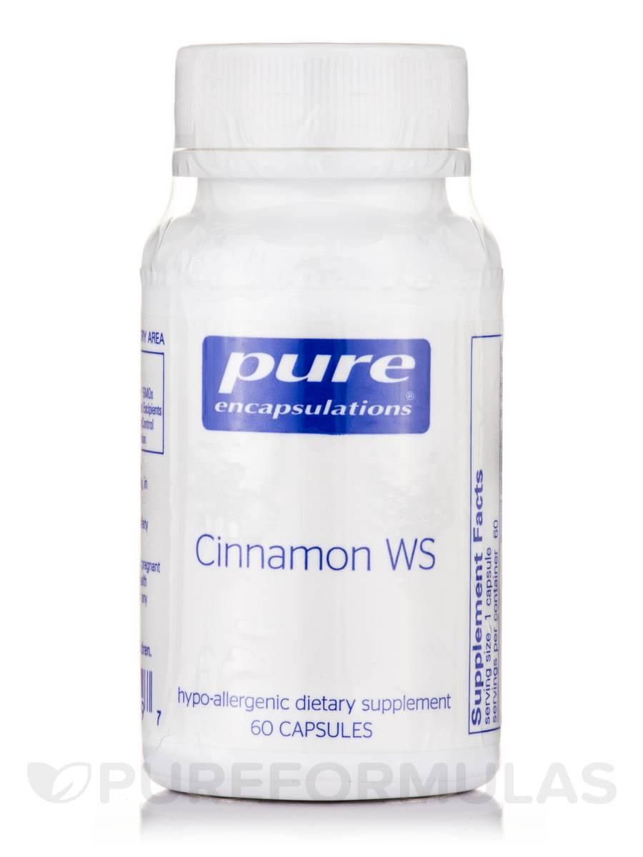 Cinnamon WS - 60 Capsules