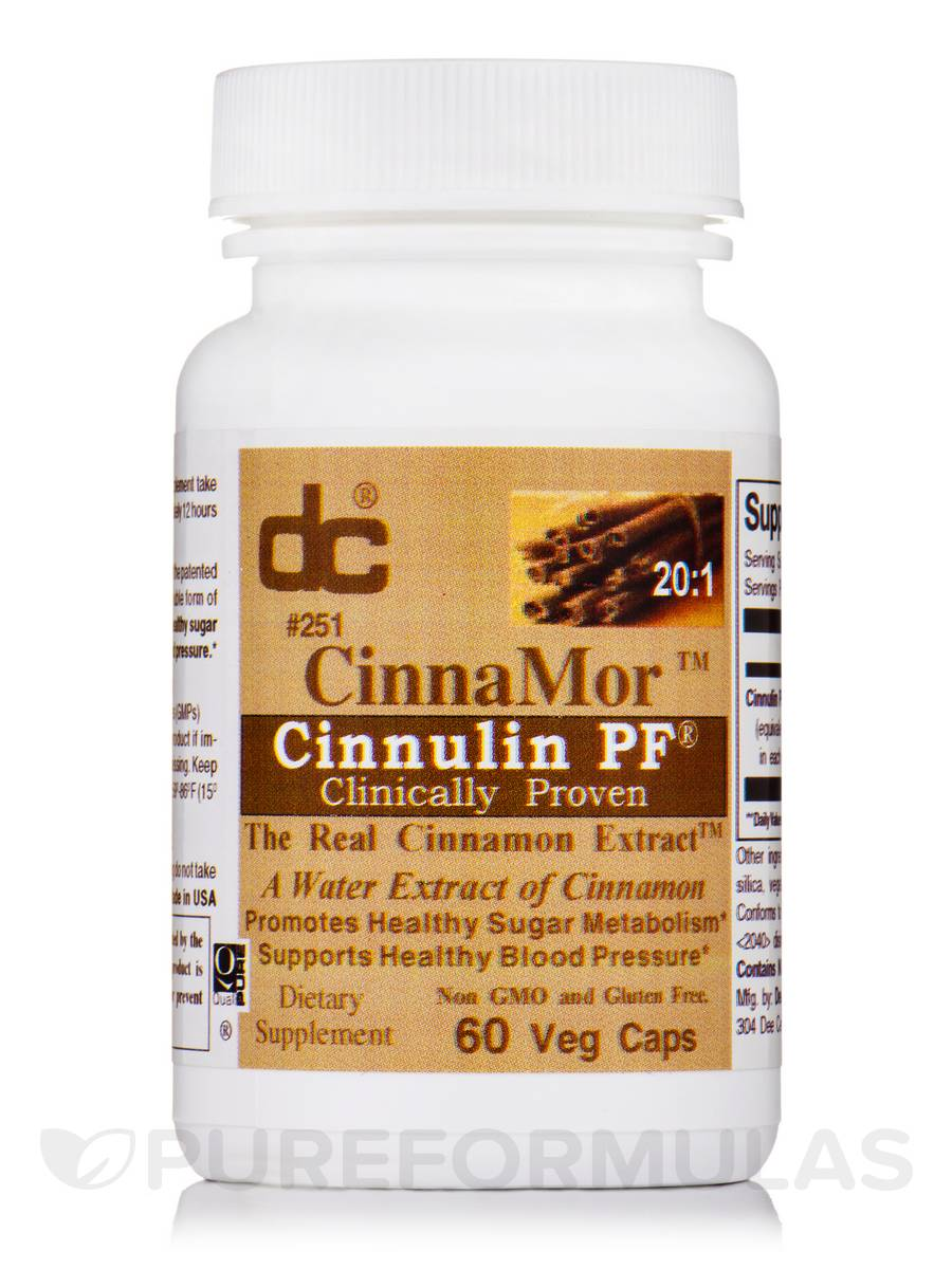 CinnaMor™ Cinnulin PF® - 60 Vegetable Capsules
