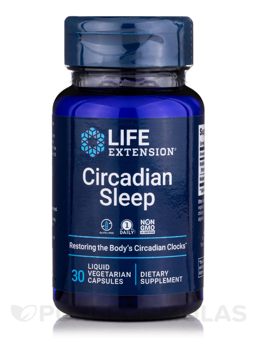 Circadian Sleep - 30 Liquid Vegetarian Capsules