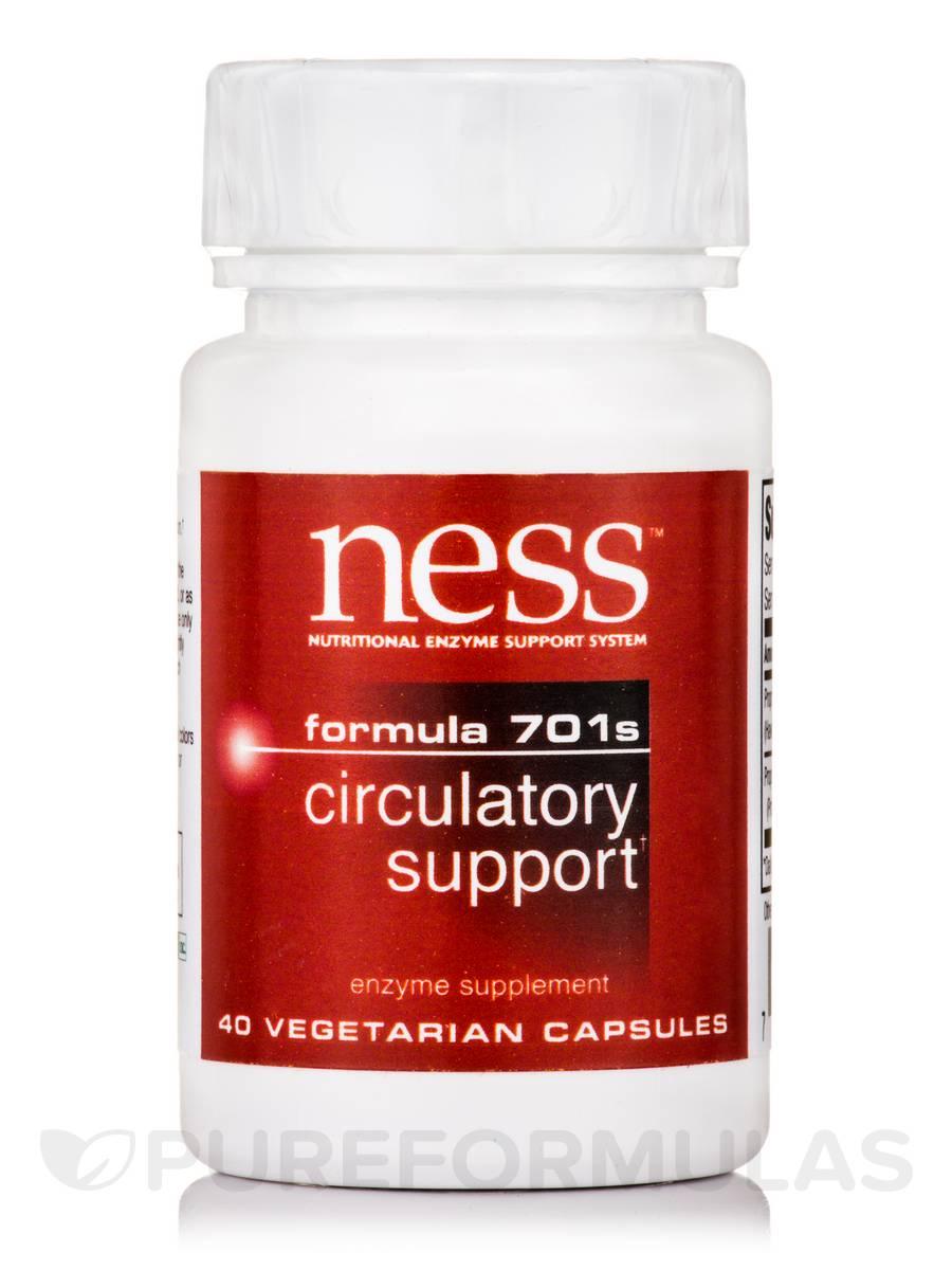 Circulatory Support (Formula 701s) - 40 Vegetarian Capsules