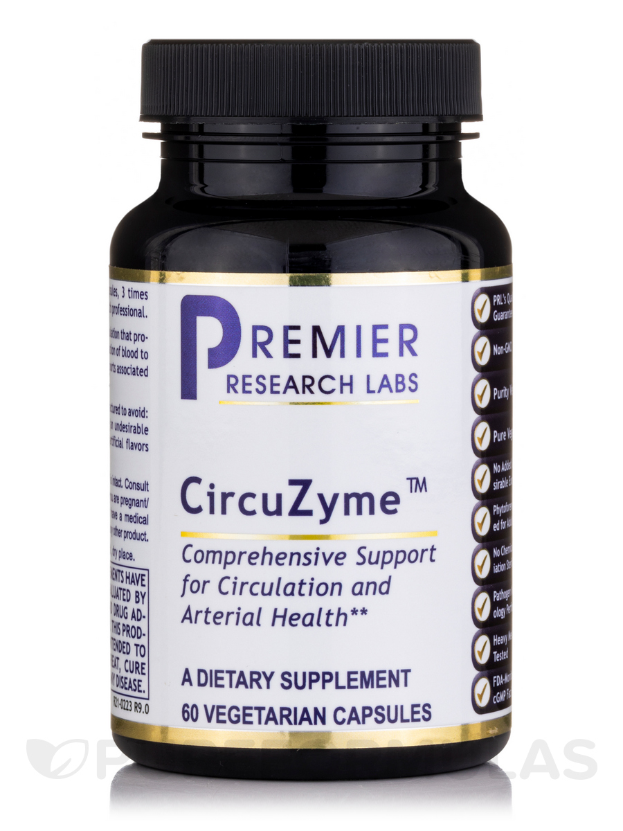 CircuZyme - 60 Vegetable Capsules