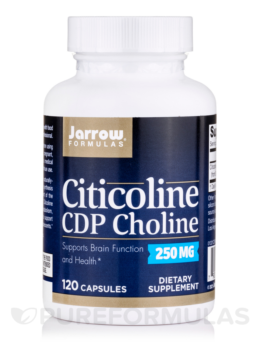 Citicoline CDP Choline 250 mg - 120 Capsules