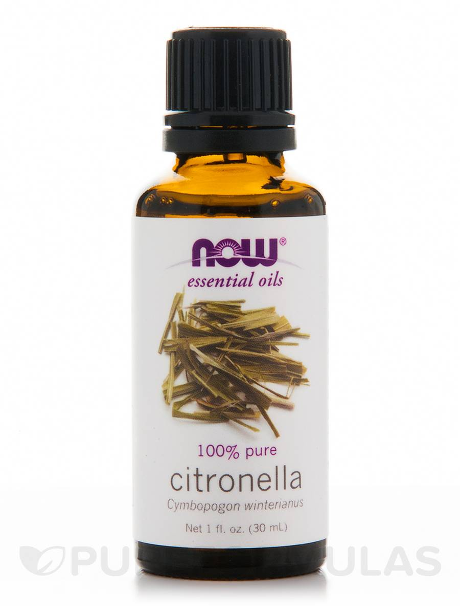 NOW® Essential Oils - Citronella Oil - 1 fl. oz (30 ml)