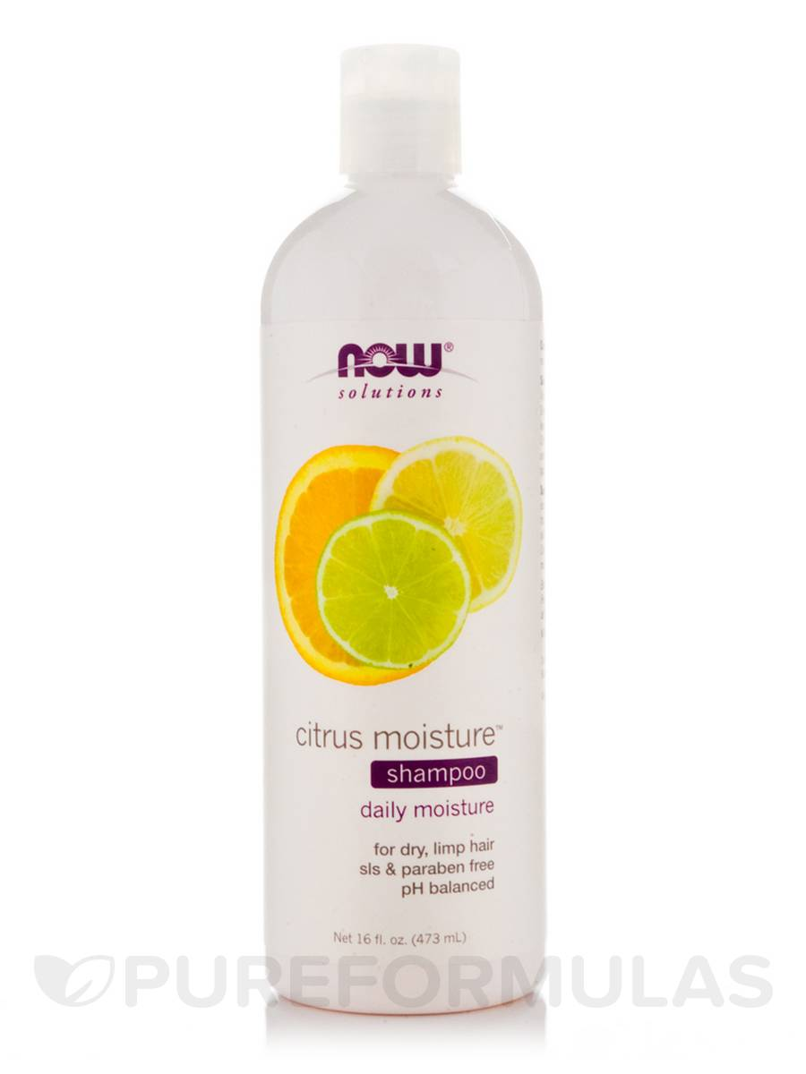 NOW® Solutions - Citrus Moisture Shampoo - 16 fl. oz (473 ml)