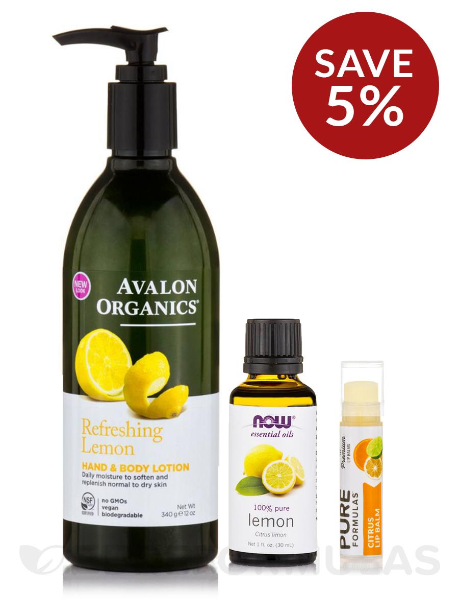 Citrus Personal Care Collection - Save 5% on a bundle