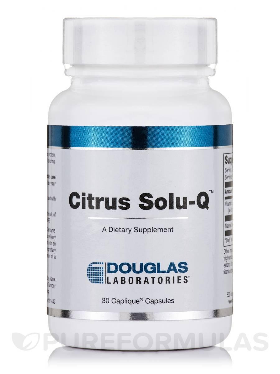 Citrus Solu-Q - 30 Caplique® Capsules