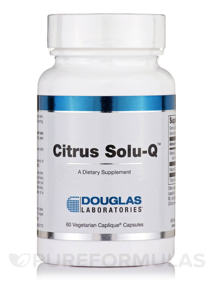 Citrus Solu-Q - 60 Caplique® Capsules