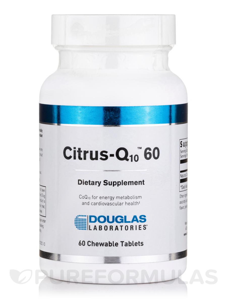 Citrus-Q10 60 Citrus Flavor - 60 Tablets