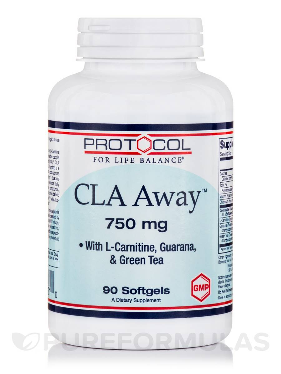 CLA Away™ 750 mg - 90 Softgels