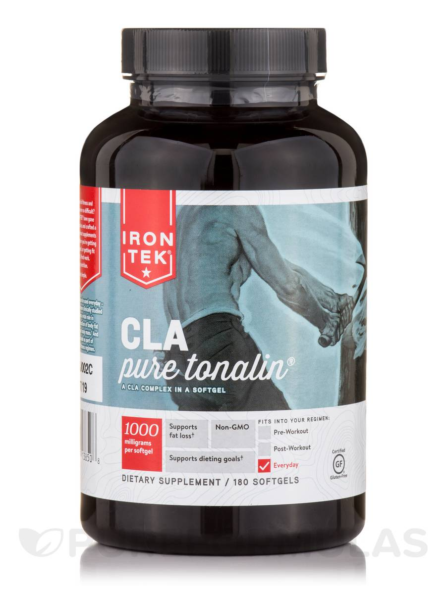CLA (Pure Tonalin CLA Complex) 1000 mg - 180 Softgels