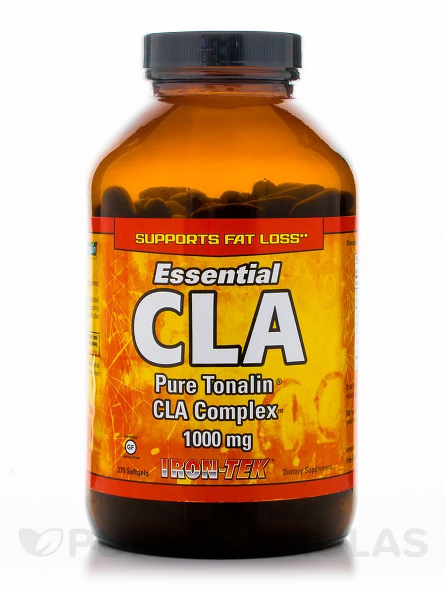 CLA (Pure Tonalin CLA Complex) 1000 mg - 270 Softgels