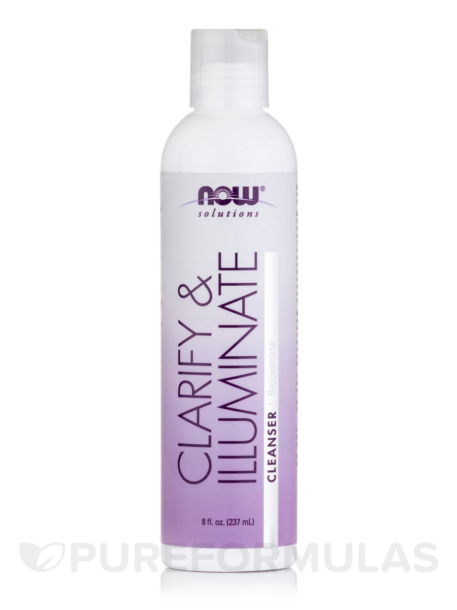 NOW® Solutions - Clarify and Illuminate Age Transformation Gel Cleanser - 8 fl. oz (237 ml)