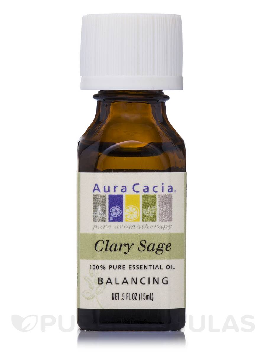 Clary Sage Essential Oil (Salvia sclarea) - 0.5 fl. oz (15 ml)