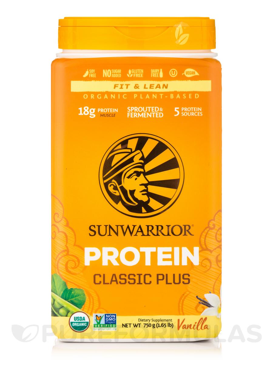 Classic Plus Protein, Vanilla Flavor - 1.65 lb (750 Grams)