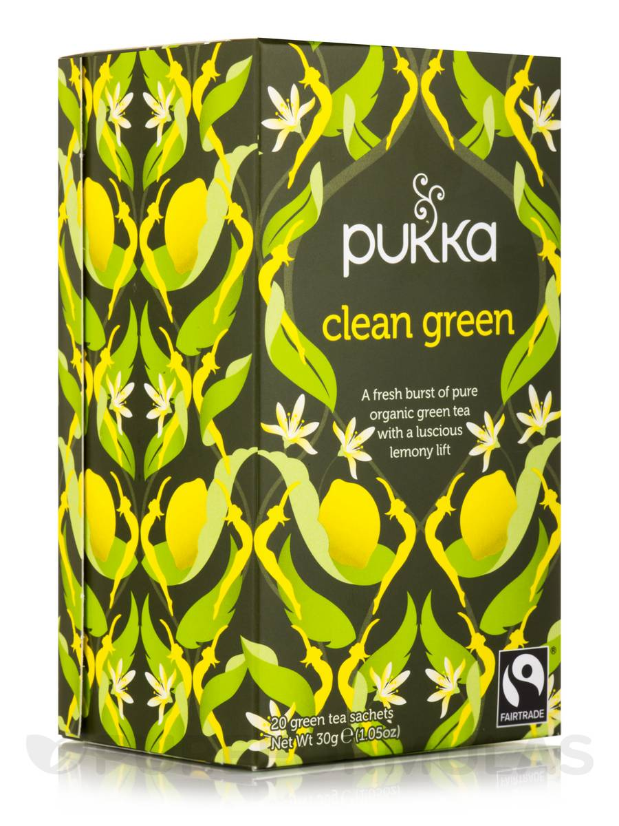 Clean Green Tea - 20 Sachets