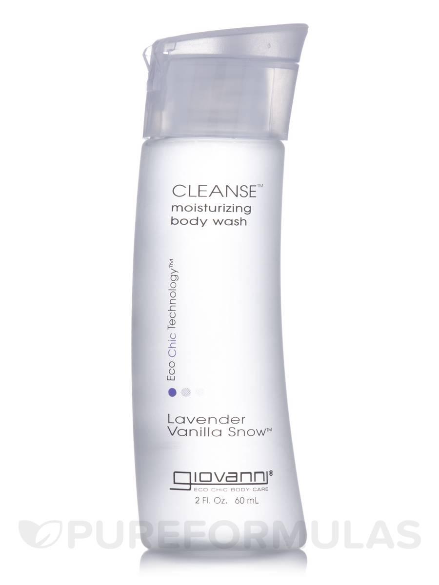 Cleanse Body Wash Lavender Vanilla Snow - 2 fl. oz (60 ml)