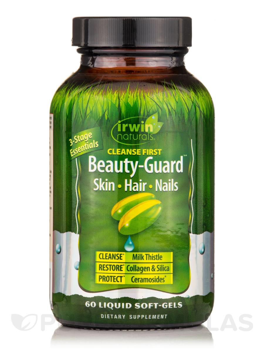 Cleanse First Beauty-Guard™ Skin Hair Nails - 60 Liquid Soft-Gels