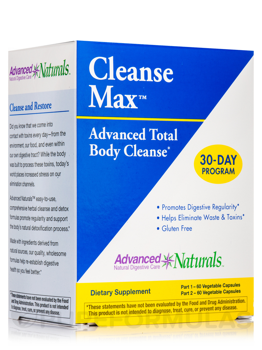 CleanseMax™ Advanced Total Body Cleanse - 30-Day Program