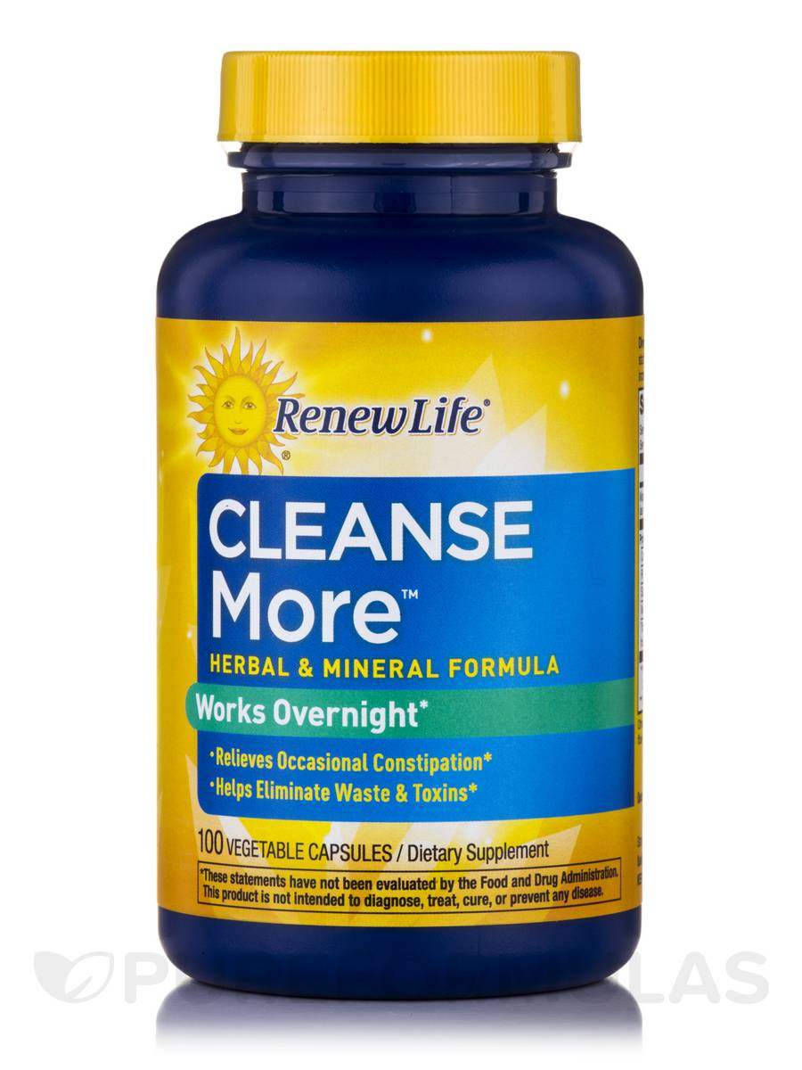 Cleanse More™ - 100 Vegetarian Capsules