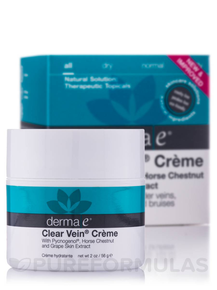 Clear Vein Creme - 2 oz (56 Grams)