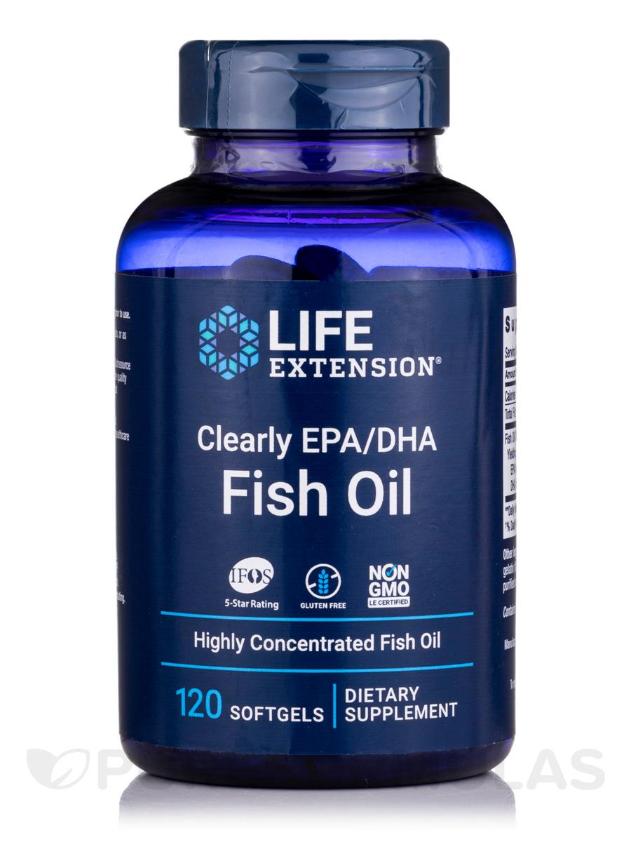 Clearly EPA/DHA Fish Oil - 120 Softgels