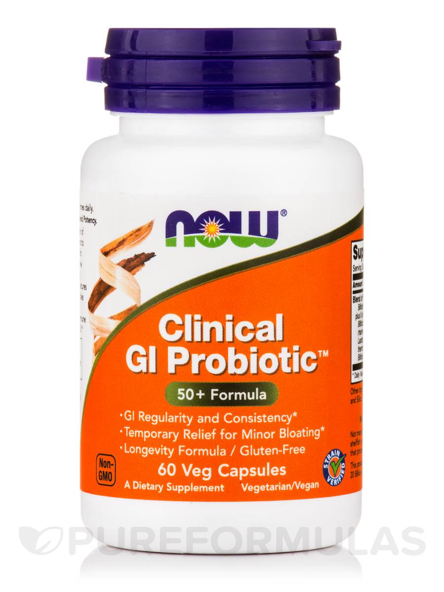 Clinical GI Probiotic™ (50+ Formula) - 60 Veg Capsules
