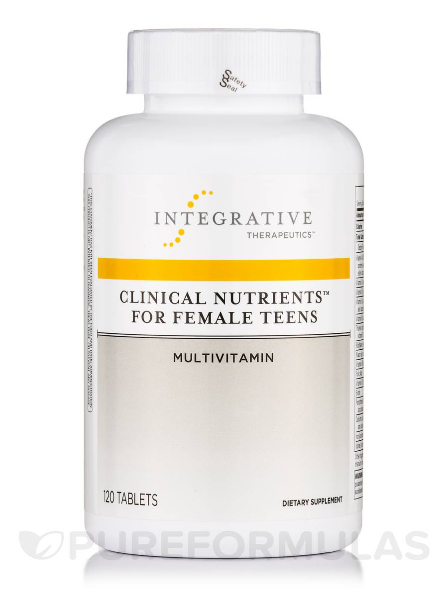 Clinical Nutrients™ for Female Teens - 120 Tablets