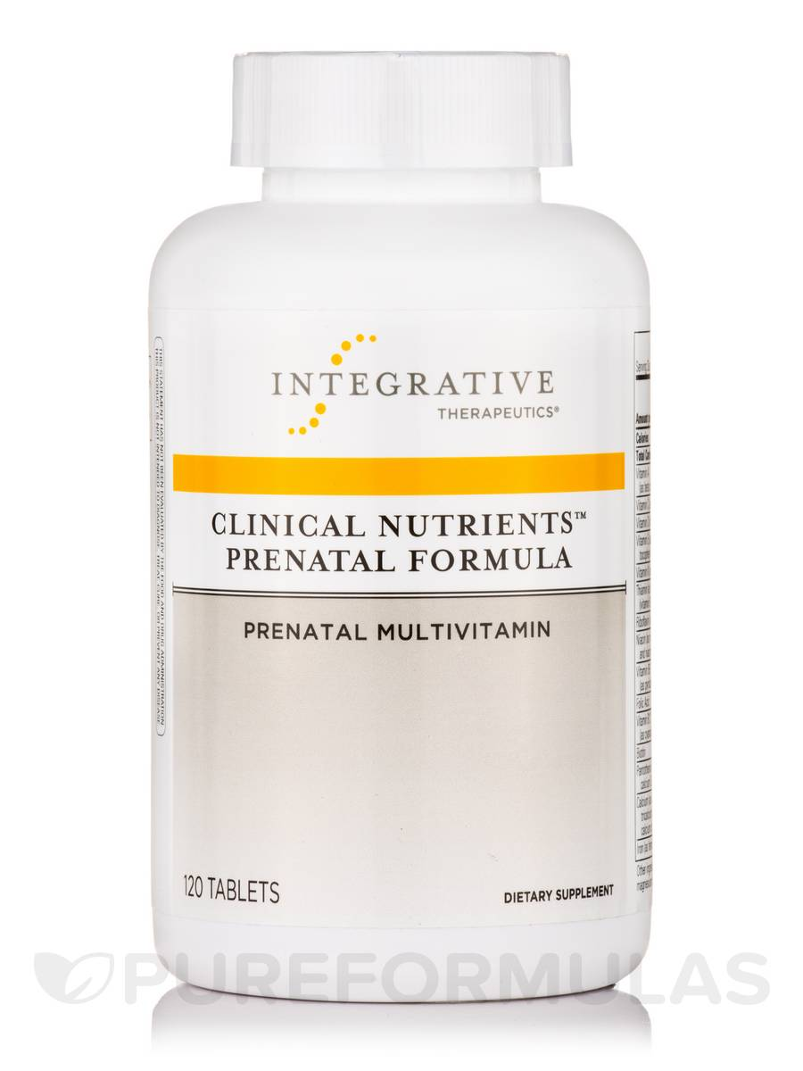 Clinical Nutrients Prenatal Formula - 120 Tablets