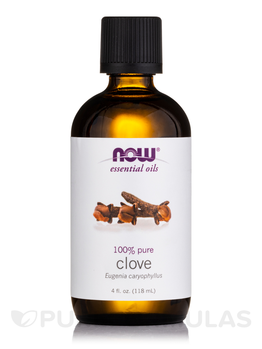 NOW® Essential Oils - Clove Oil - 4 fl. oz (118 ml)