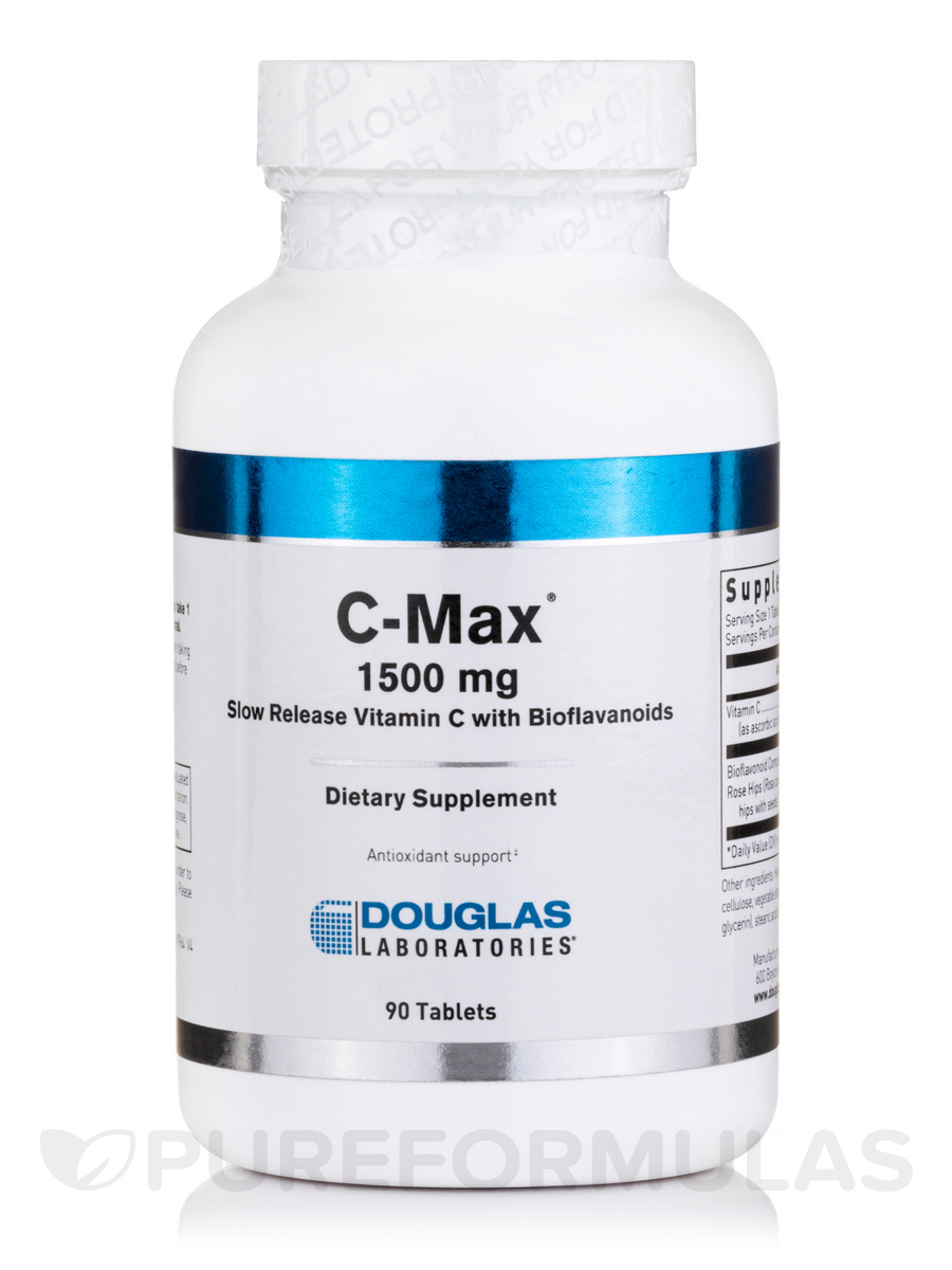 C-Max (Vitamin C 1500 mg) - 90 Tablets