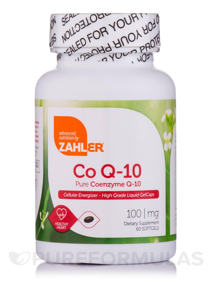 Co Q-10 100 mg - 60 Softgels