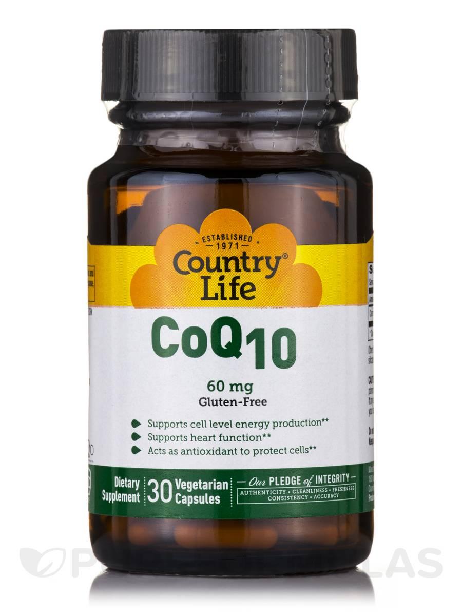 Co Q-10 60 mg - 30 Vegetarian Capsules