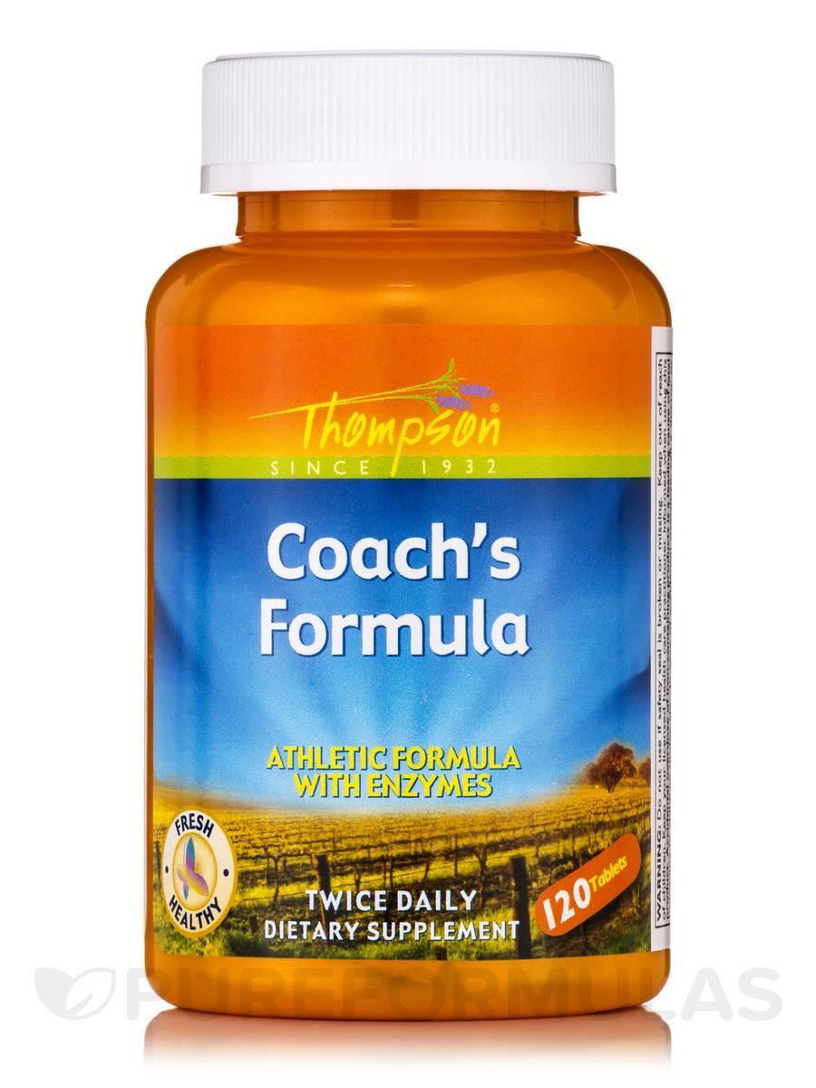 Coach's Formula - 120 Tablets