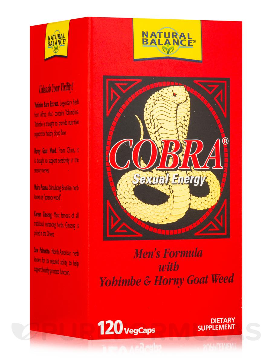Cobra Sexual Energy - 120 VegCaps