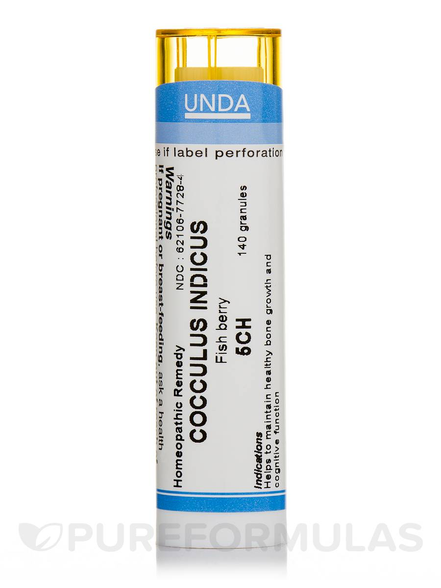 Cocculus Indicus 5CH - 140 Granules (5.5g)