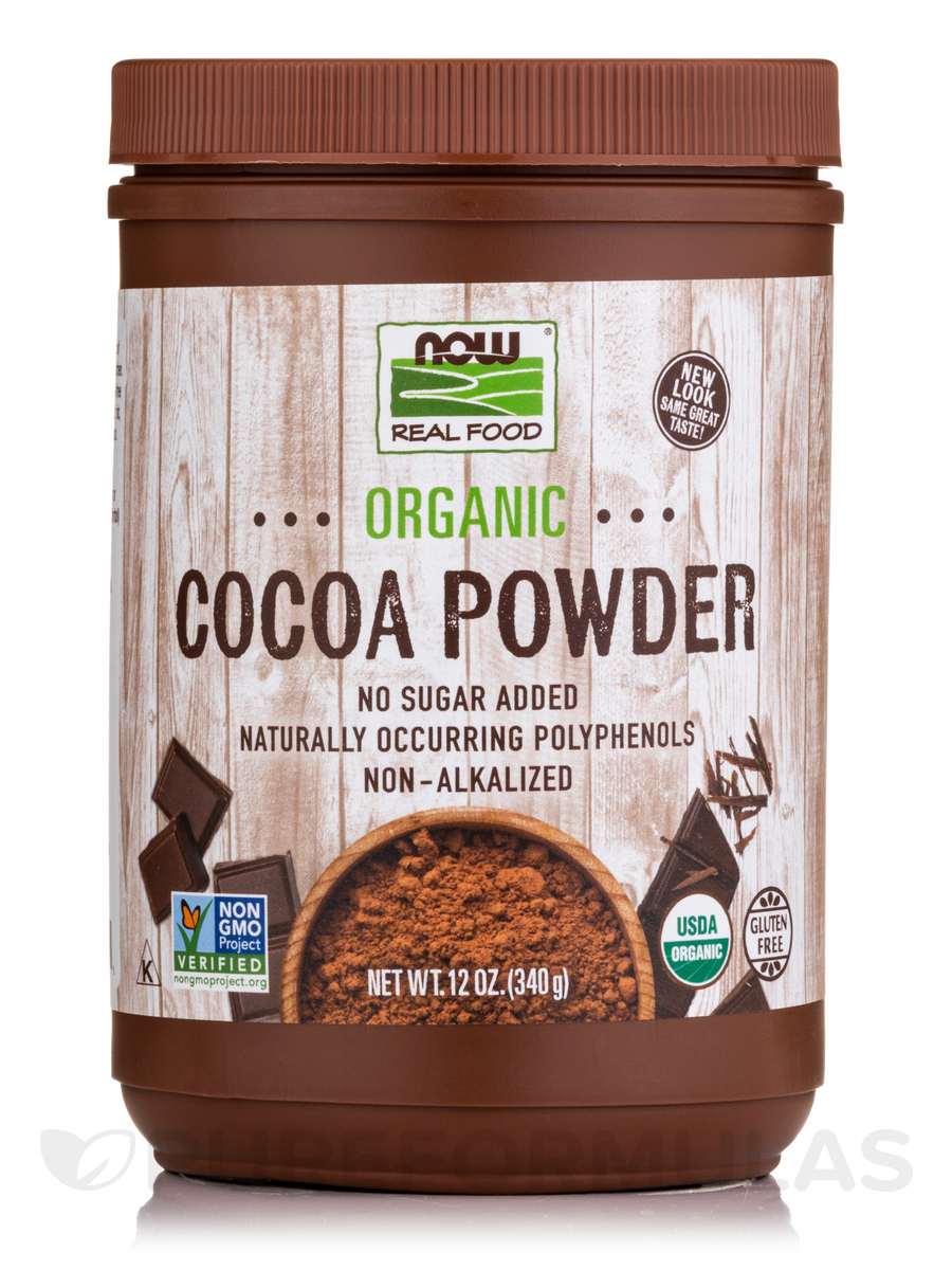 Cocoa Lovers™ Organic Cocoa Powder - 12 oz (340 Grams)