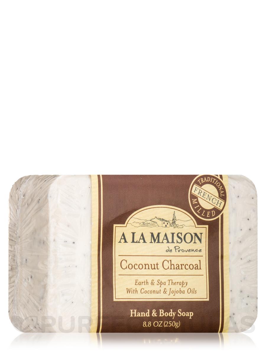 Coconut Charcoal Soap Bar - 8.8 oz (250 Grams)