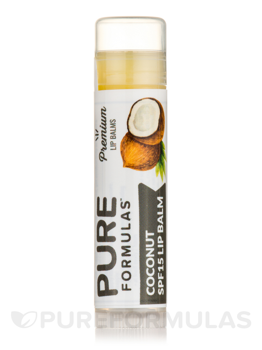 Coconut Lip Balm - 0.15 oz (4.25 Grams)