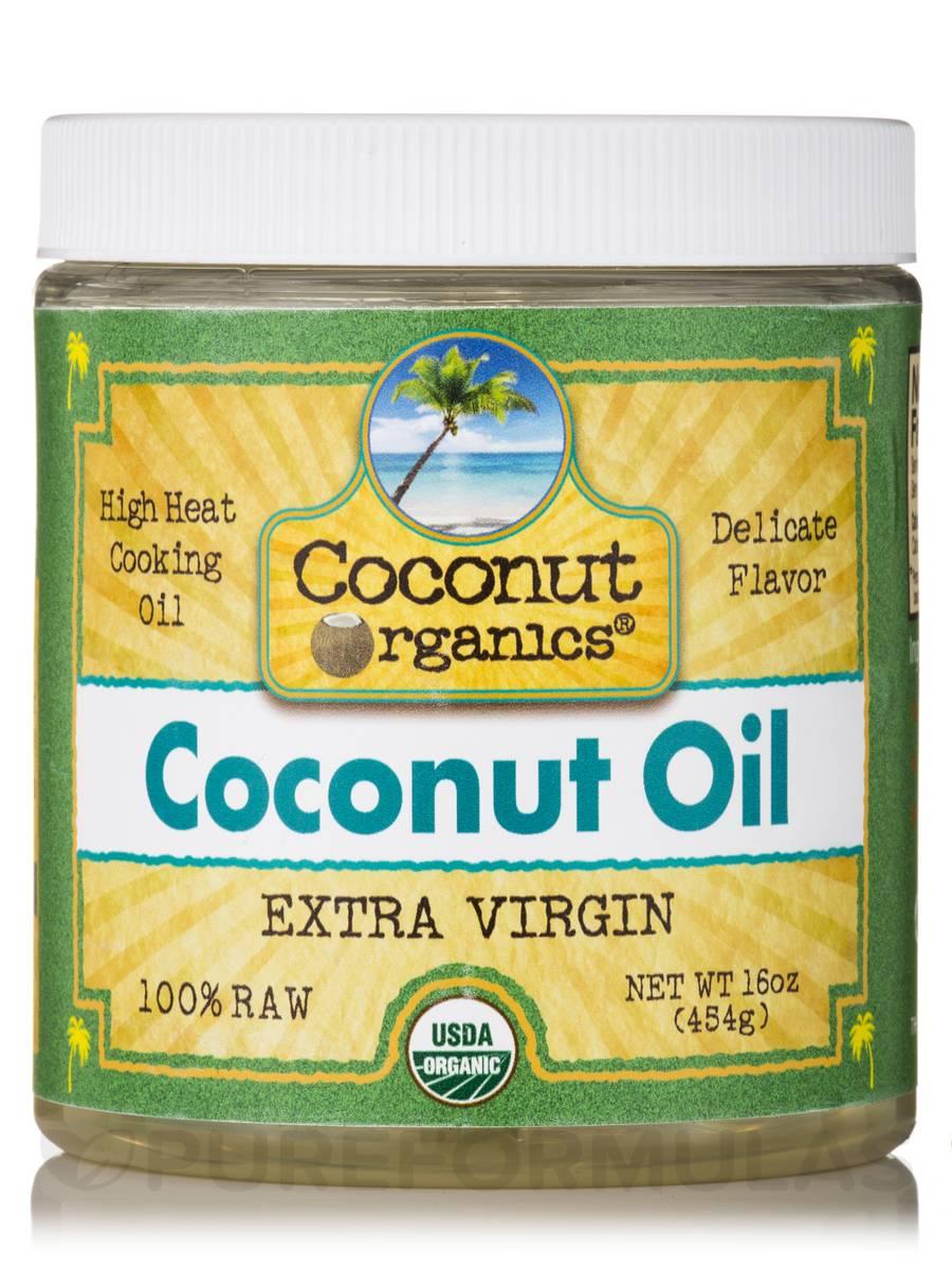 Coconut Oil - 16 oz (454 Grams)