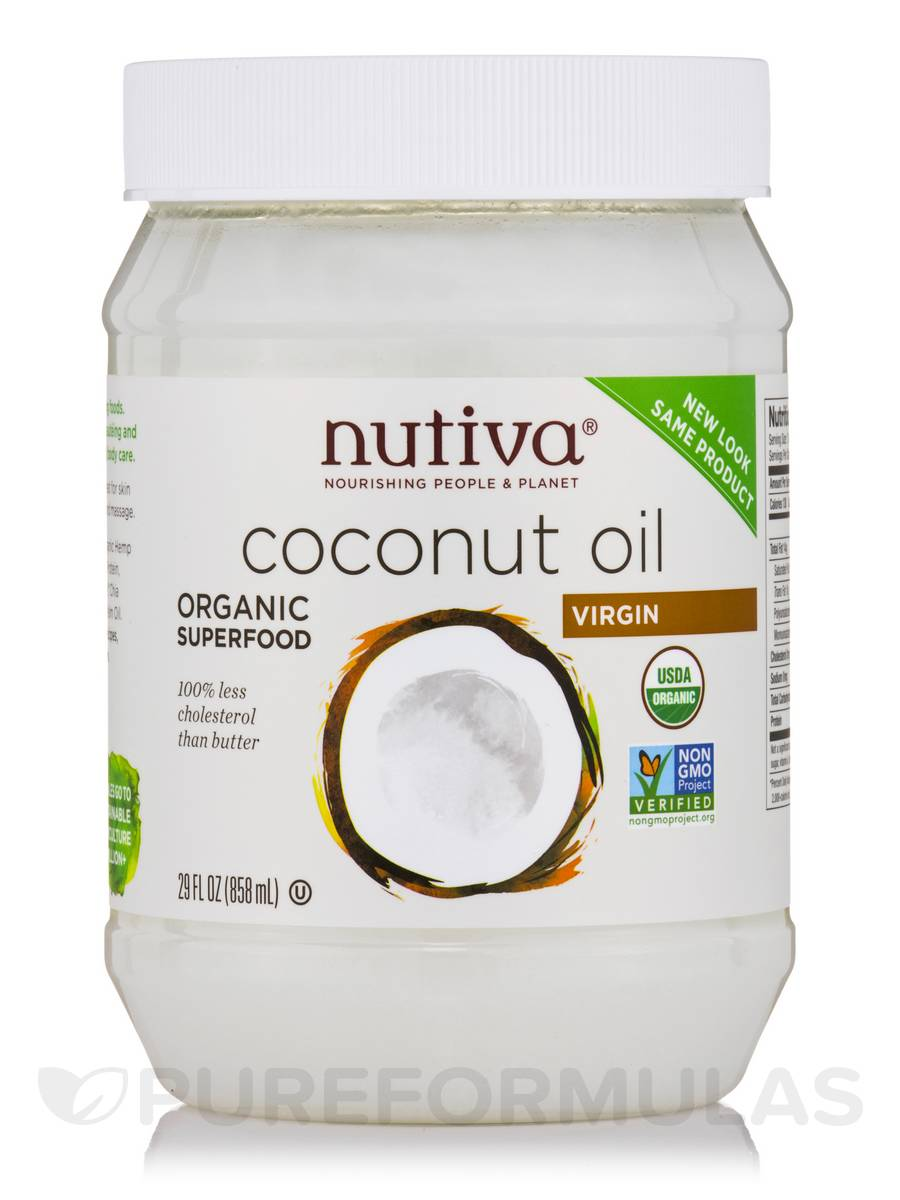 Organic Virgin Coconut Oil - 29 fl. oz (858 ml)