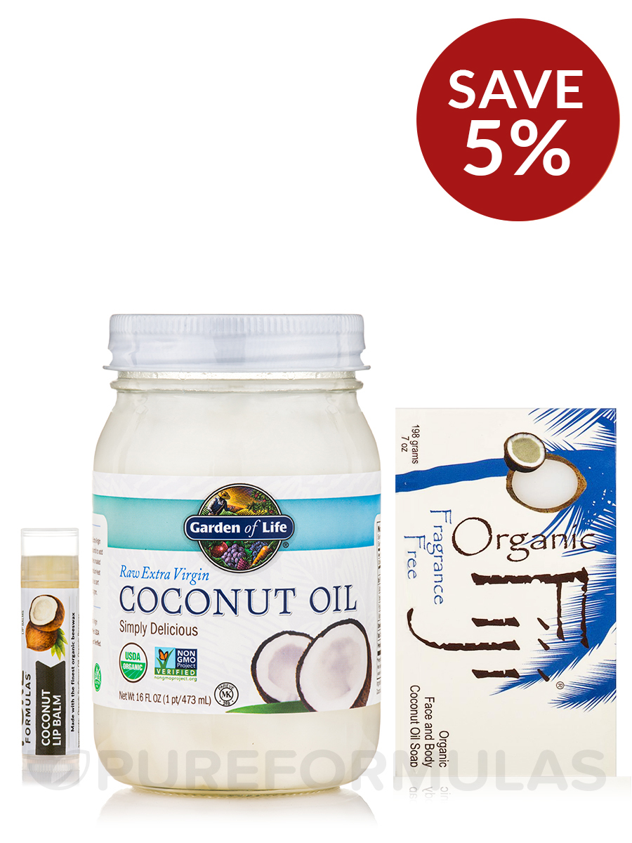 Coconut Oil Bath & Body Collection - Save 5% on a bundle