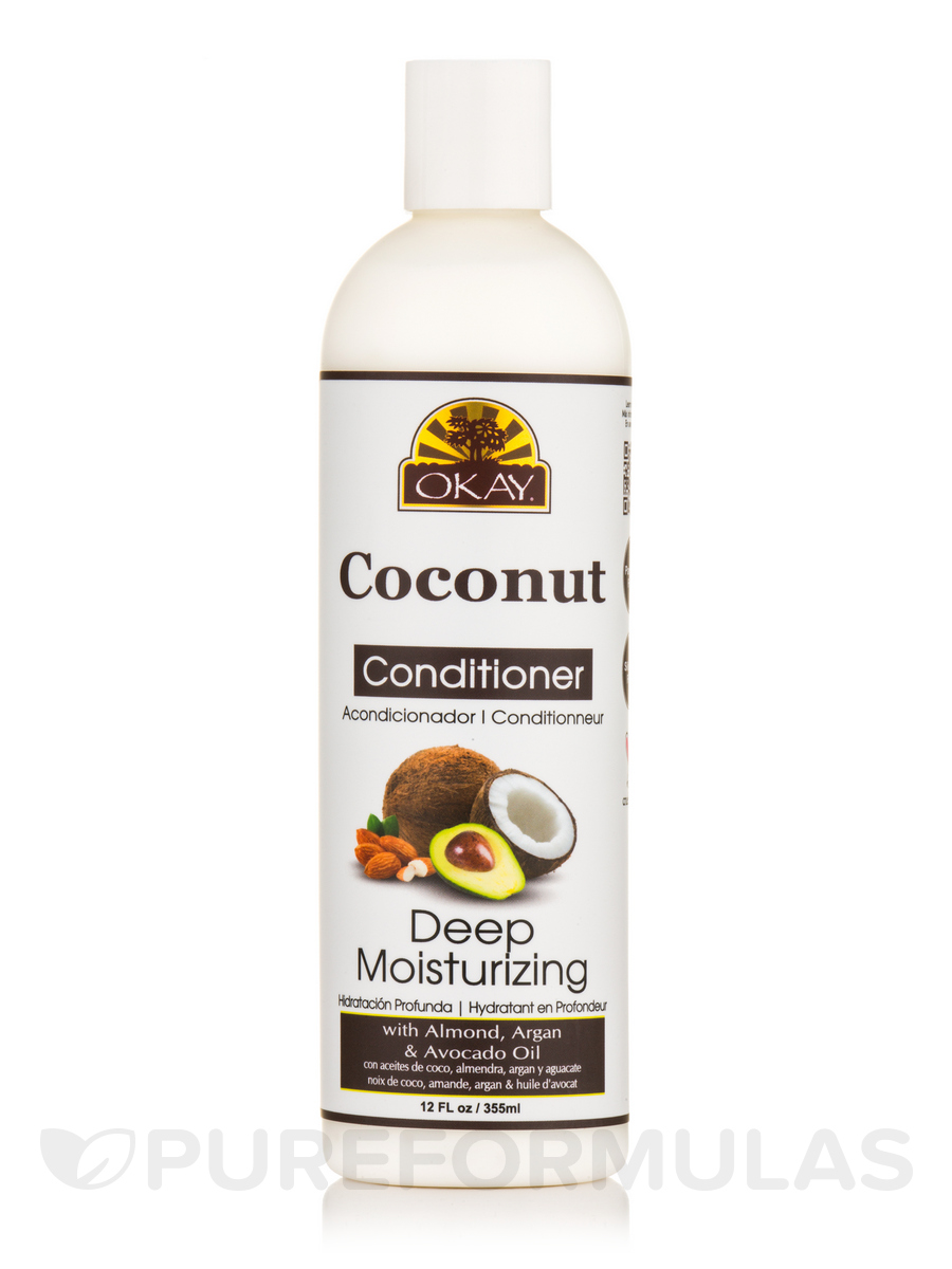 Coconut Oil, Deep Moisturizing Conditioner - 12 fl. oz (355 ml)