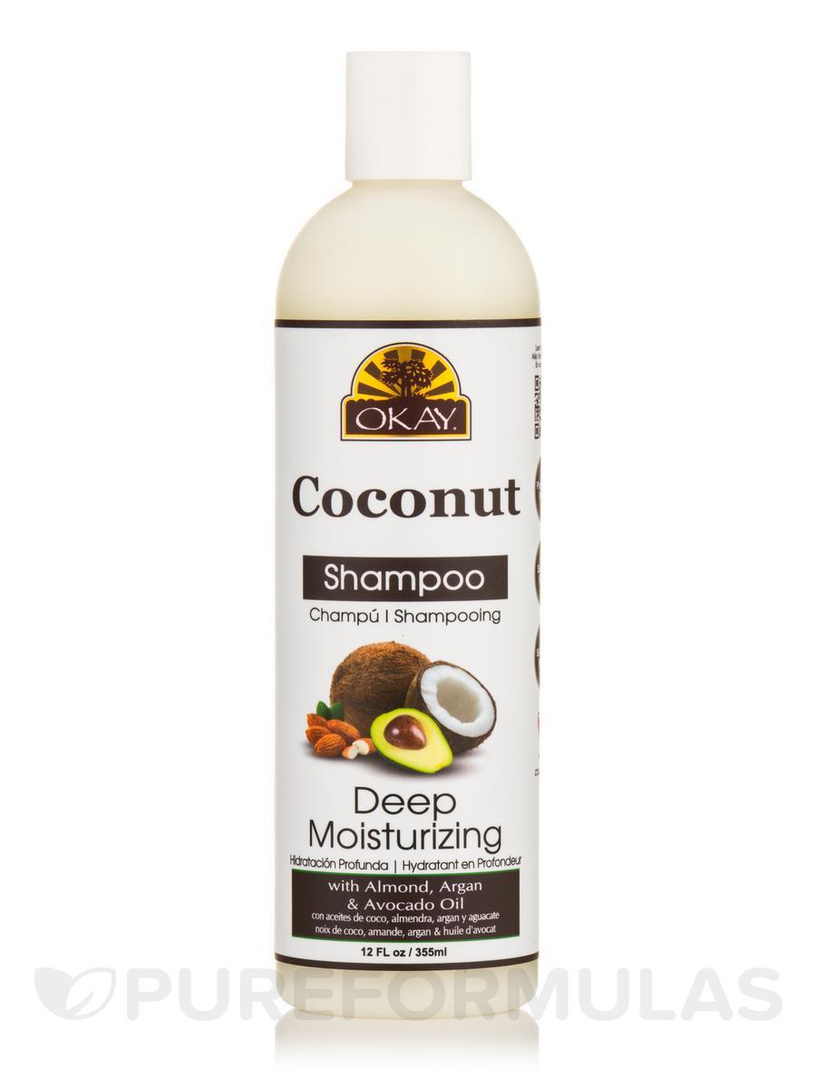 Coconut Oil, Deep Moisturizing Shampoo - 12 fl. oz (355 ml)