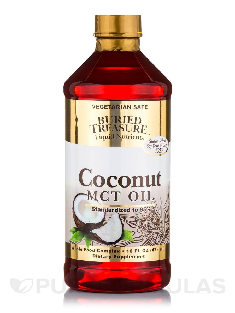 Coconut MCT Oil - 16 fl. oz (473 ml)