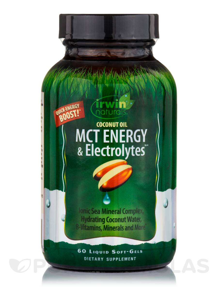 Coconut Oil MCT Energy & Electrolytes™ - 60 Liquid Soft-Gels