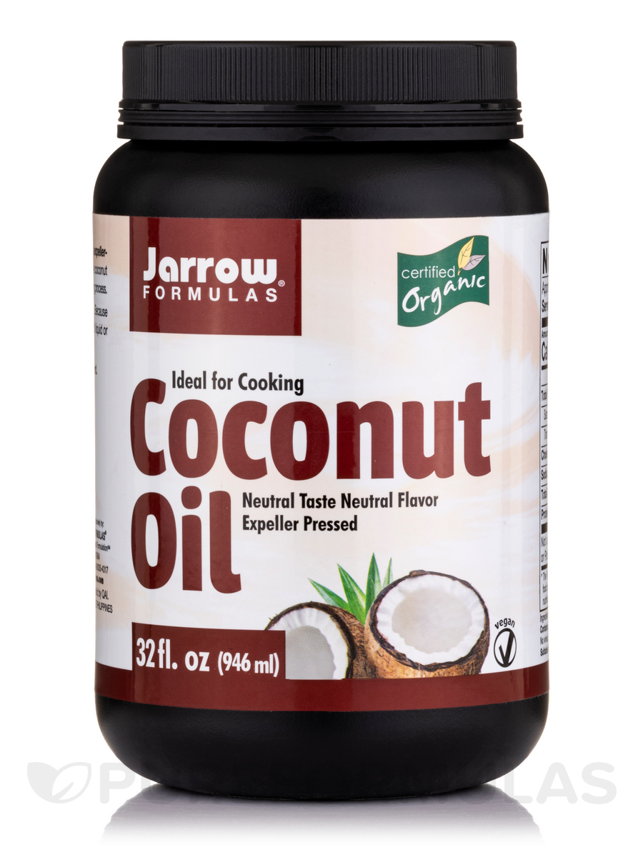 Coconut Oil (Organic) Neutral Flavor - 32 fl. oz (946 ml)