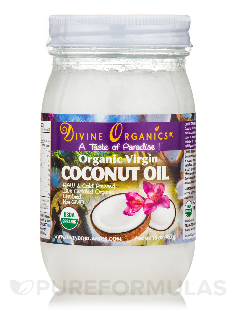 Coconut Oil (Raw and Virgin) - 16 oz
